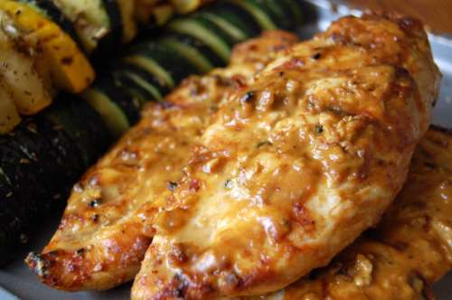 Peanut chicken